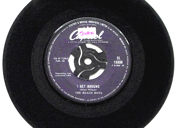 Beach Boys I Get Around & Don't Worry Baby Single 1964