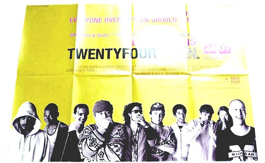 Twenty Four Seven British Quad Film Poster 1997