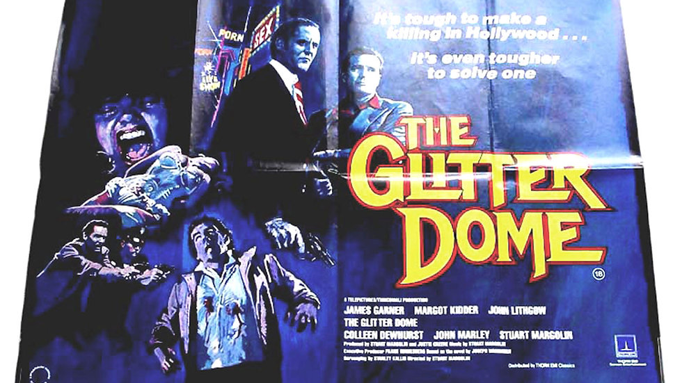 The Glitter Dome British Quad Film Poster 1984
