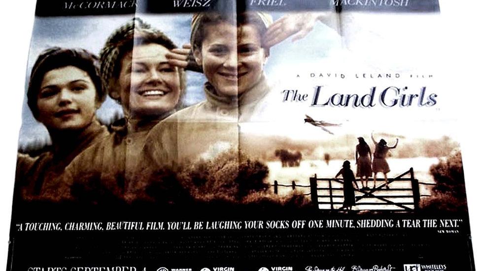 Anna Friel The Land Girls British Quad Film Poster 1998