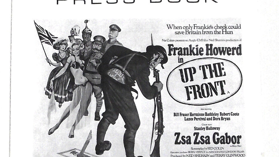 Frankie Howerd Up The Front Press Book 1972