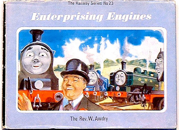Rev W. Awdry Enterprising Engines 1968