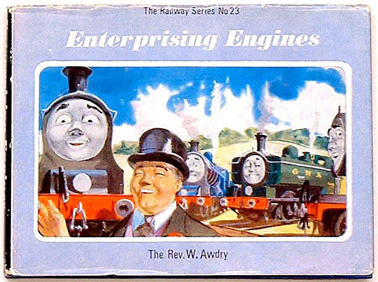 Rev W. Awdry Enterprising Engines 1968