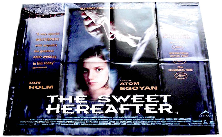 The Sweet Hereafter British Quad Film Poster 1997