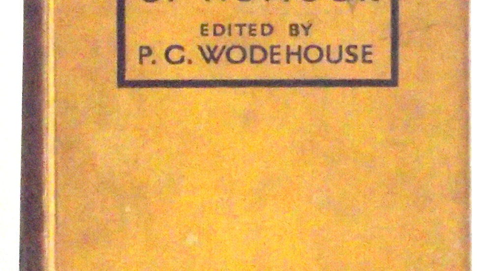 A Century of Humour Edited by P.G. Wodehouse Front Board