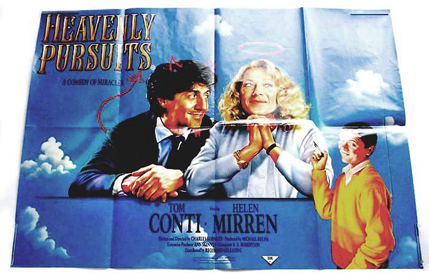 Heavenly Pursuits British Quad Film Poster 1986