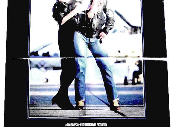 Tom Cruise Top Gun Film Poster 1986