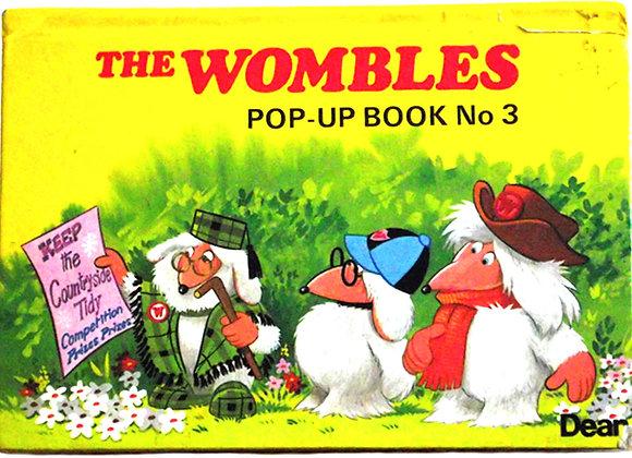 The Wombles Pop-Up TV Book No 3 1976