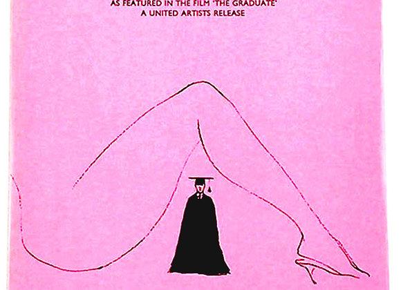 Simon and Garfunkel Mrs Robinson Film Sheet Music circa 1970's