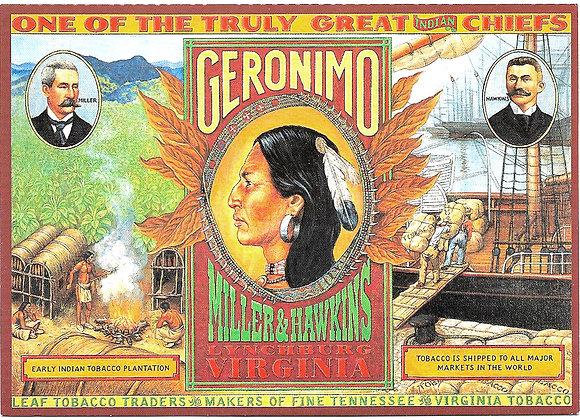 Geronimo Collector Card