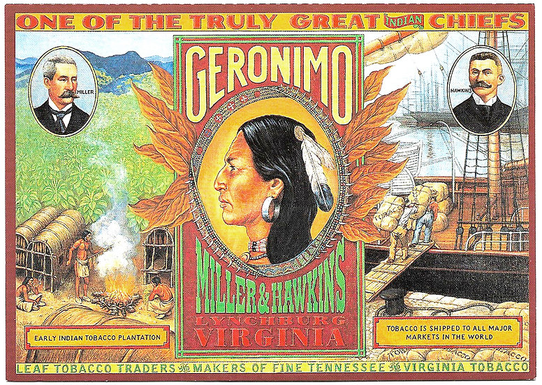 Geronimo Collector Card