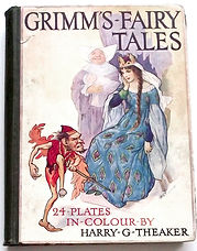 Harry-G-Theaker-Grimms-Fairy-Tales-Front