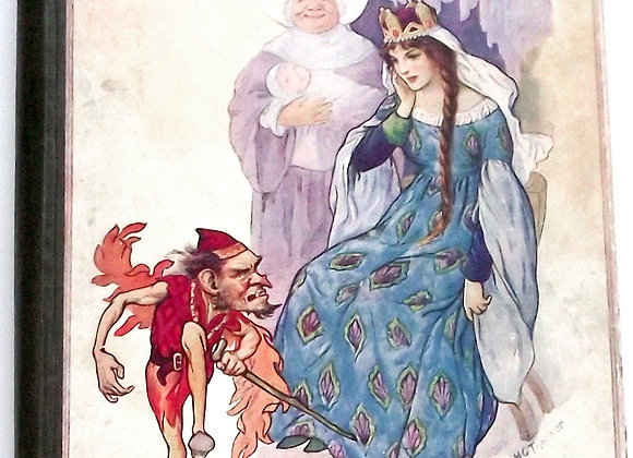 Grimm's Fairy Tales Illustrated by Harry G. Theaker circa 1930