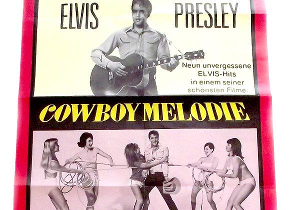 Elvis Presley Tickle Me German Poster 1965