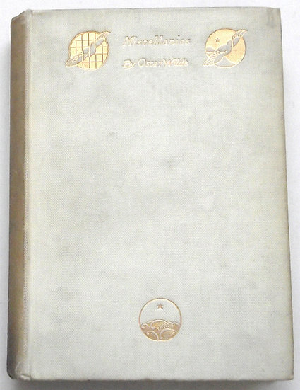 Oscar Wilde Miscellanies Limited Edition to Just 1,000 Copies 1908