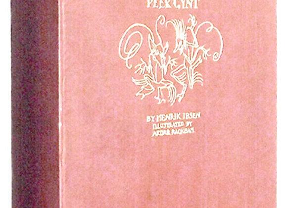 Arthur Rackham Peer Gynt First Edition Book 1936