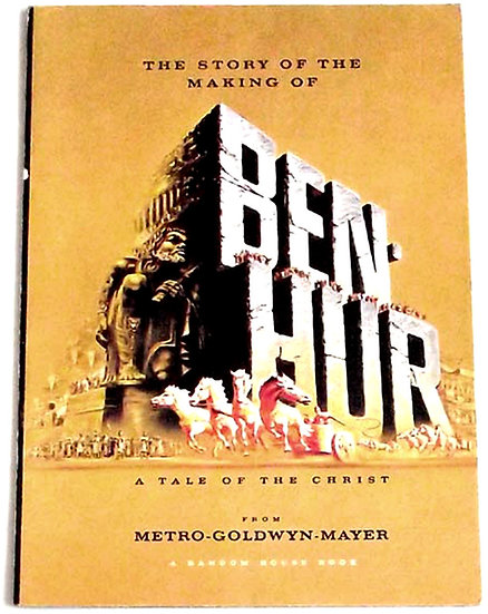 The Story of the Making of Ben Hur Film Programme 1959
