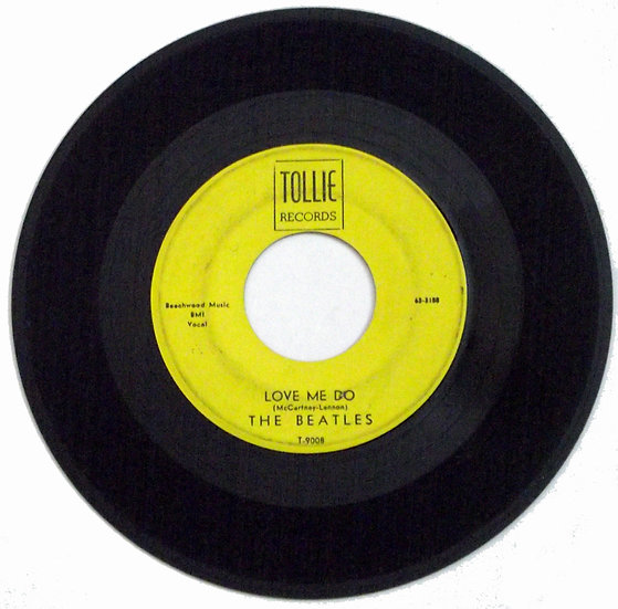 The Beatles Love Me Do Tollie T-9008 Single 1964