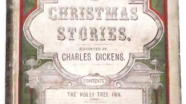 Charles Dickens Christmas Stories Book 1868 Front Cover