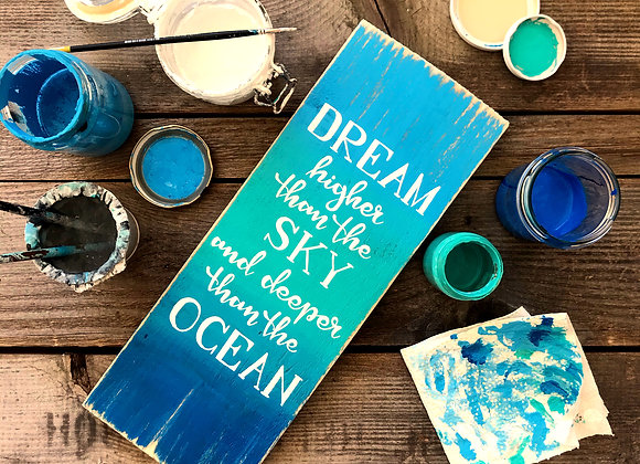 """Dekoschild """"Dream"""""""