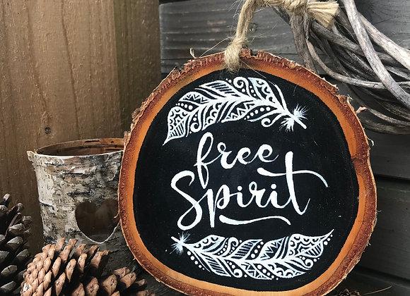 """Dekoschild """"free Spirit"""""""