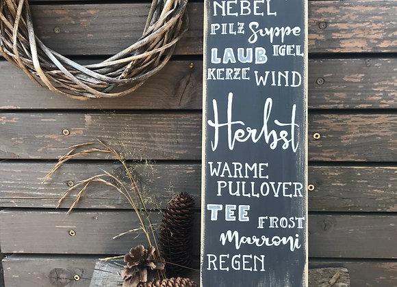 """Dekoschild """"Herbst"""""""