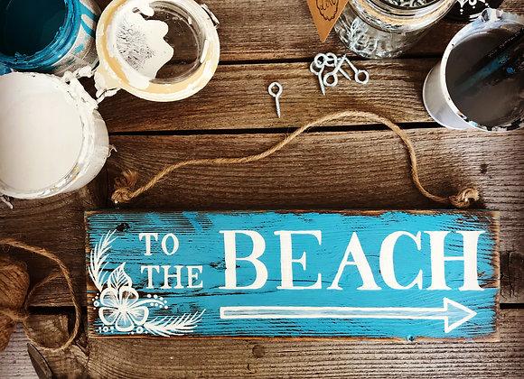 """Dekoschild """"To The Beach"""""""