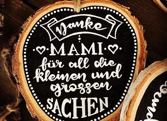 "Dekoschild ""Muttertag - Danke Mami"""