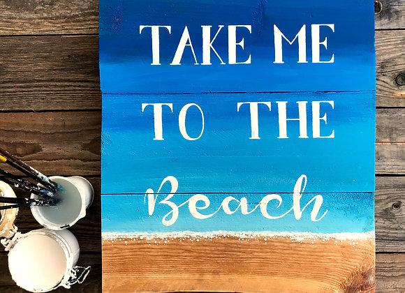 """Dekoschild """"Take Me To The Beach"""""""