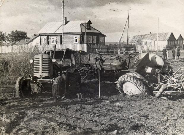 Непростая ситуация на картофельном поле.