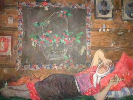 Васильев Ю. мама.1950.Холст, масло.110х119