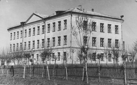 Школа-интернат, 1957 год.