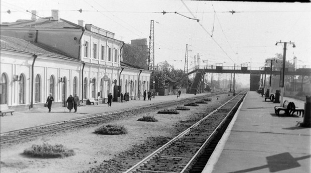 Петушки. Вокзал. 1967г.