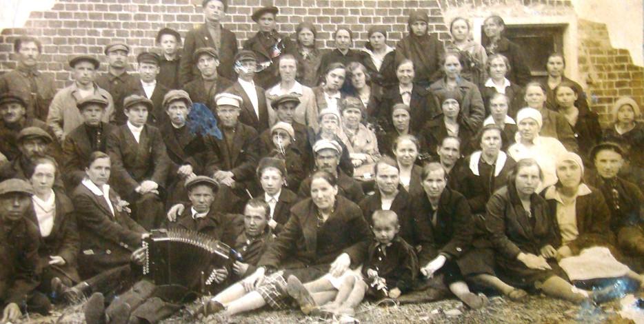 """Съезд уполномоченных фабрики """"Трудовой коллектив"""", 30 мая 1933 года."""