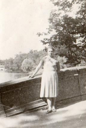 Мост рядом с Мутным прудом.
