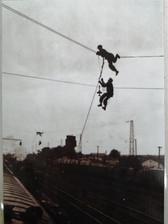 Электрификация магистрали Москва-Петушки. 1985г.