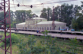 Петушки. Вокзал. 1990г.