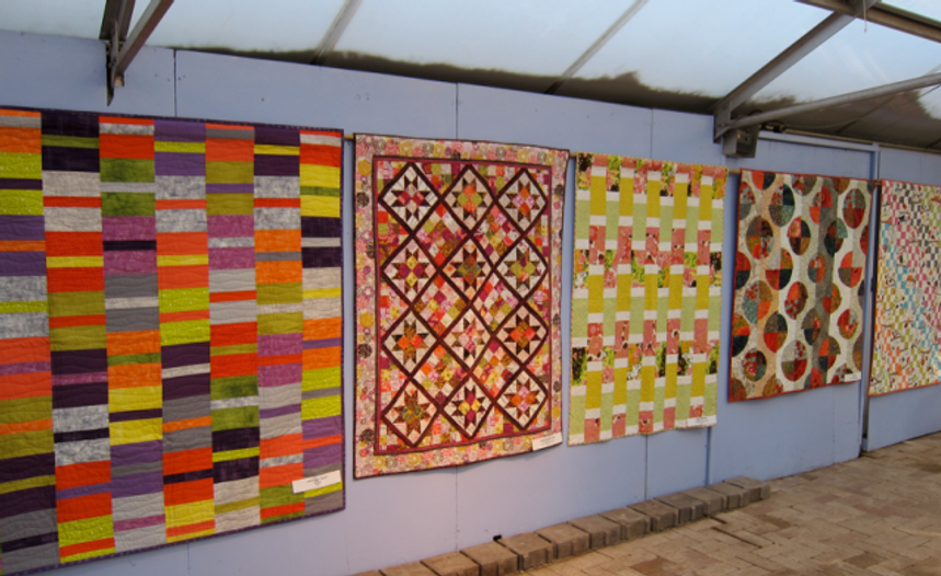 Dazzling quilt projects featured in the new edition of Q!Q!!Q!!!