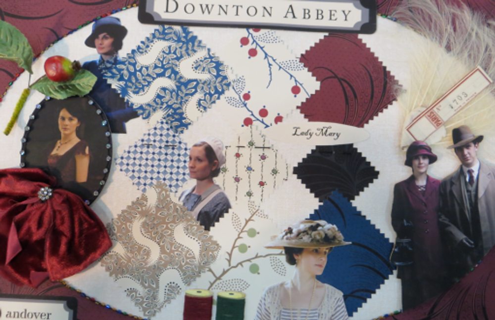 Lady Mary's idea board from Andover Fabrics--are you as excited as I am?