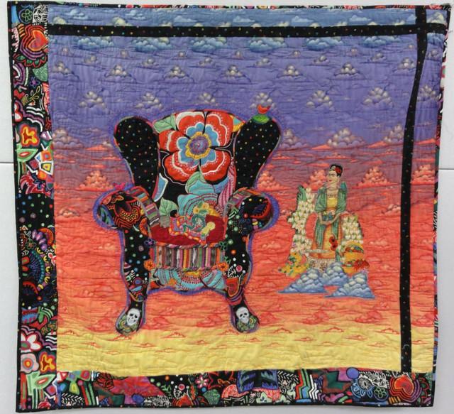 "Margaret Linderman's ""Dream Chair"". Pattern by Alethea Ballard."