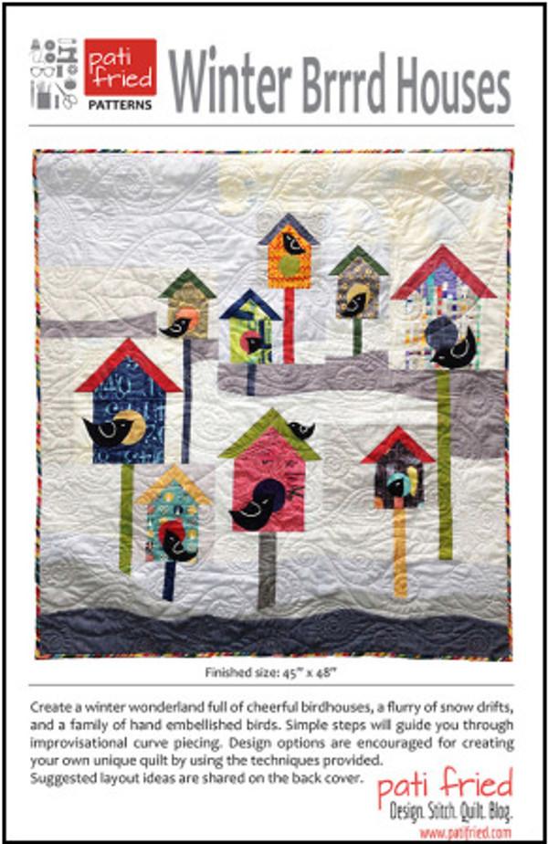 WinterBrrrd Houses Pattern by Pati Fried