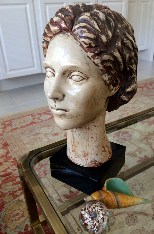 Resin-cast sculpture by my mother