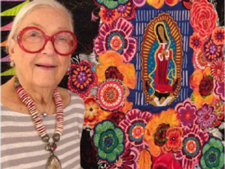 2015 Quilting in the Garden with Freddy Moran and Sally Collins
