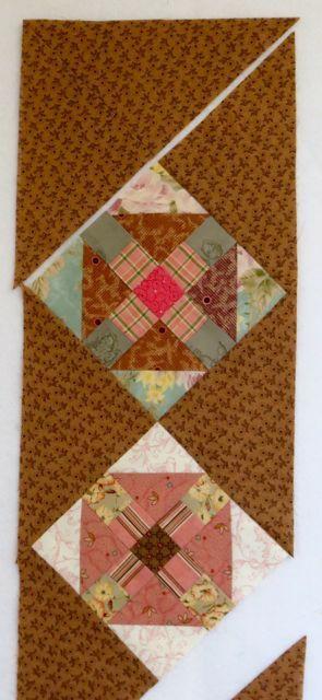 Churn Dash Q square top sewn