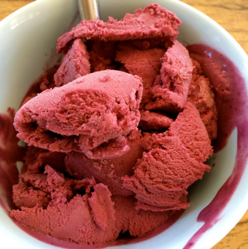 Inspiration-J:  Blueberry gelato