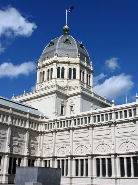 The Royal Exhibition Building in Melbourne, site of the Australasian Quilt Convention