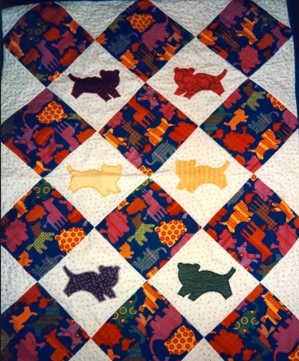 Quilt-J:  Anita Grossman Solomon's First Quilt