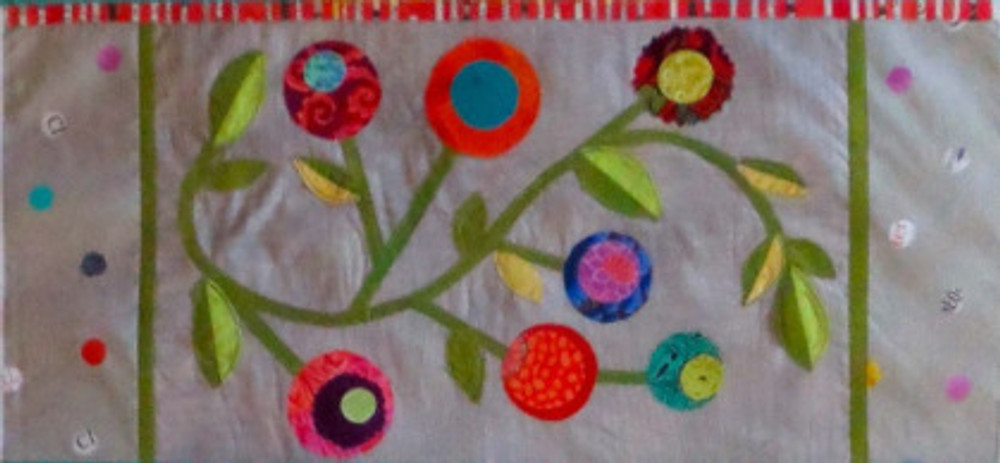 Panel 1 of See How We Sew Quilt-Along