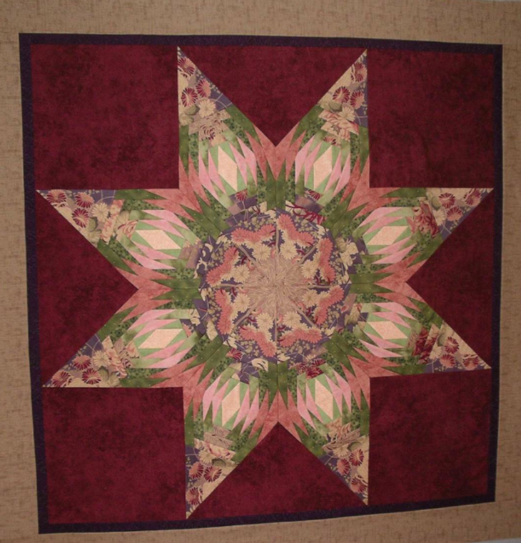 Pineapple STar made by Valerie Yeaton.