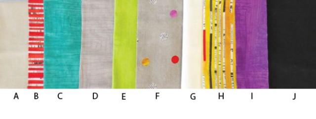 Fabric A - J